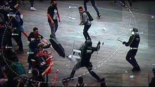 Erőszakba torkollott a katalán tüntetéssorozat