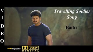 Travelling Soldier - Badri Tamil Movie Video Song 4K Ultra HD Blu-Ray & Dolby Digital Sorround 5.1