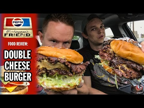The Workingman's Friend Double Cheeseburger Food Review | Road Trip to Indianapolis