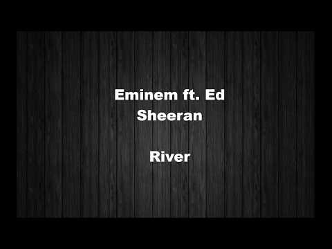 Eminem - River ft. Ed Sheeran (Lyrics) + مترجم للعربية (Arabic)