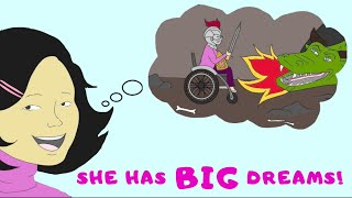 """The Dreams of Little Miss Aeva"" Book Trailer"