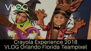 Crayola Experience 2018 VLOG - Orlando Florida Teampixel