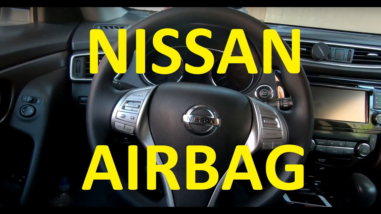 [DIAGRAM_38DE]  How to remove airbag on Nissan Rogue Altima XTrail 2013 2014 2015 2016 2017  2018 - YouTube | Car Air Bag Schematics Nissan |  | YouTube