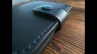 2в1. Кошелек, обложка для паспорта. Leather hand made