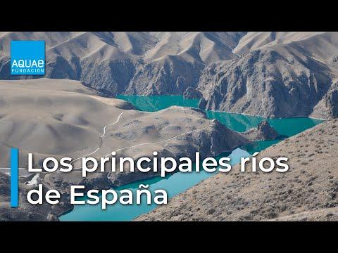 Principales Ríos de España - Ebro, Tajo, Guadiana, Duero...