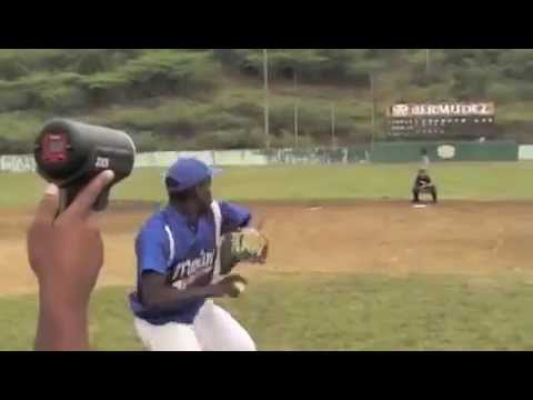 Dominican MLB prospect Cien Fuegos in the Dominican Republic - Right Handed Pitcher
