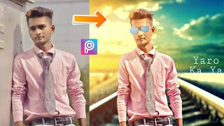 Edit your Photo like PapPya Gaikwad Style | Picsart Best Editing Tutorial | New PicsArt Tutorial