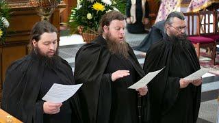 Да исправится молитва моя. Муз. Г.Рютова. Трио братии Святогорской Лавры 13.3.19 г.