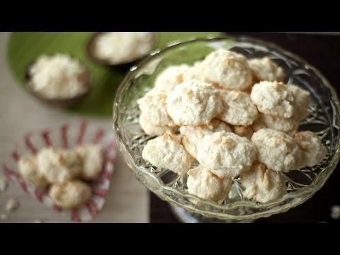 Plätzchen Rezept: Kokosmakronen