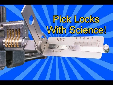 [261] Picking Locks with Science |  Are Your Locks Secure?