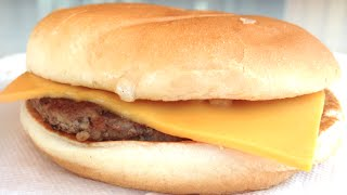 HOW TO MAKE A McDONALDS CHEESEBURGER