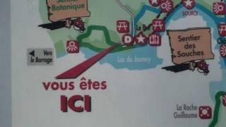 Carte de randonnées du domaine du pré