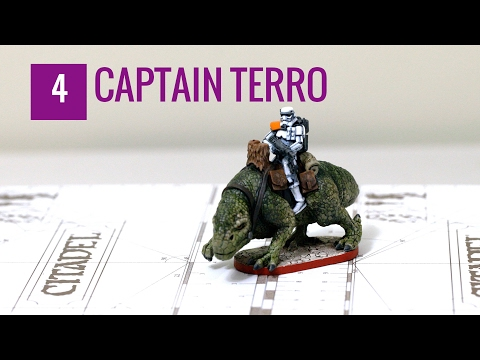 Star Wars Imperial Assault Painting Tutorial (Episode 4): Captain Terro
