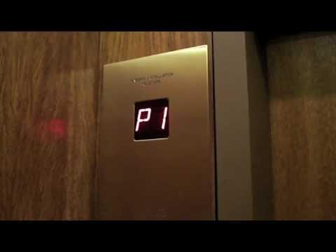 Otis Traction Parking Elevators at Commerce Court West Toronto
