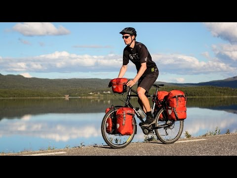 Crazy American Rides Bicycle Across Norway & Sweden - EP. #1
