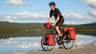 Crazy American Rides Bicycle Across Norway & Sweden - EP. #137