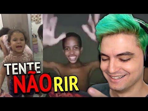 TENTE NÃO RIR - CRIANÇAS MALUCAS!