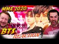 BTS Reaction ''LIVE'' 2020 MMA! Black Swan Perf + ON + Life Goes On + Dynamite