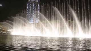 The Dubai Fountain - Dhoom Taana - Om Shanti Om
