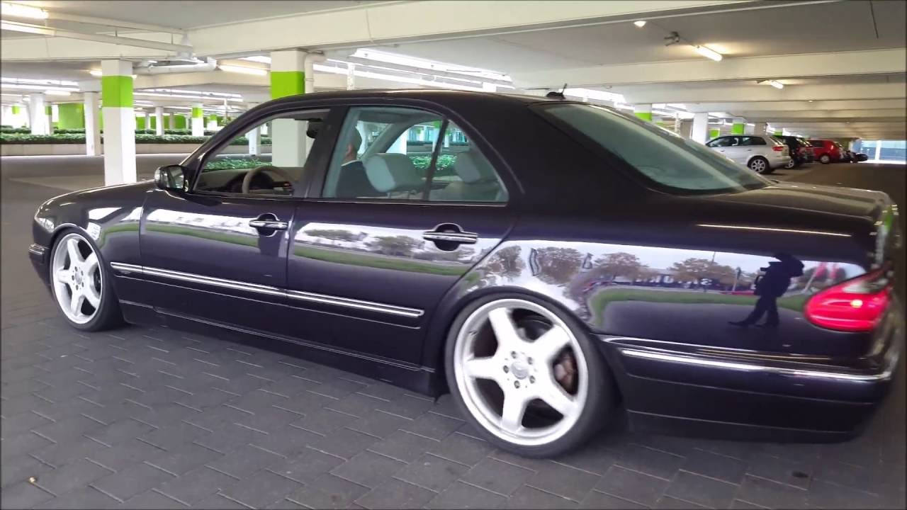 Mercedes w210 tuning 2 tuning cars - Mercedes Benz E Klasse W210 Amg Am Westpark Ingolstadt Tuning Youtube