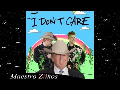 Ed Sheeran & Justin Bieber - I Don't Care ( Cover by Donald Trump )