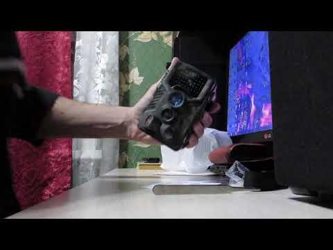 Фотоловушка с Алиэкспресс, распаковка,первые впечатления.