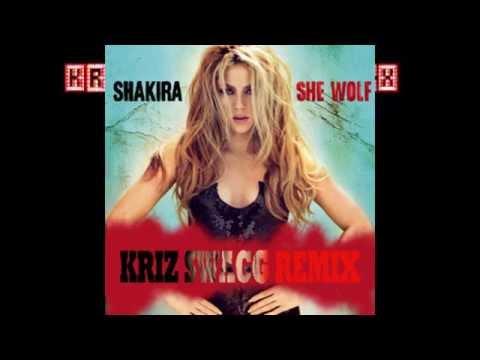 Shakira - She Wolf(Kriz Nair BIG ROOM/EDM Remix) Halloween SPECIAL!!