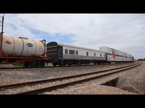 SCT Freight train 3MP9 with CSR008 SCT004 BK002
