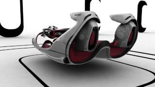 """بالفيديو.. طالب روسى يذهل العالم بتصمم نموذج لسيارة """"فيرارى"""" لعام 2040"""