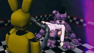 Soy SPRING BONNIE y meto NIÑOS en SHADOW FREDDY | Five Nights at Freddy's: Killer in Purple (FNAF)