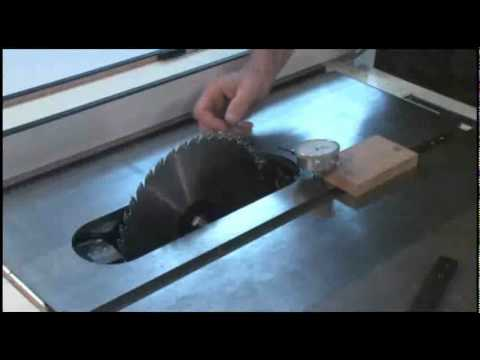 Micro Jig Shop Tips Table Saw Alignment.flv