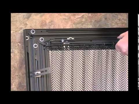 Thermo Rite 2014 Mesh Curtains Youtube