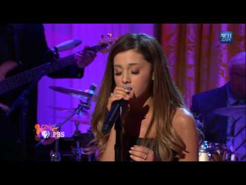 Ariana Grande Performing Tattooed Heart at the White House on 3/6/2014