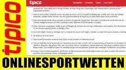 Tipico !!!  Statt Account zu verifizieren, soll Spieler zweites Konto registrieren