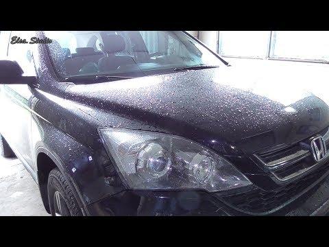 Замена передних тормозных колодок Honda CR-V