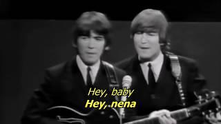 Kansas City/ Hey, hey, hey - The Beatles (LYRICS/LETRA) [Original]