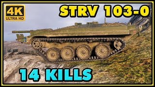World of Tanks | Strv 103-0 - 14 Kills - 9,9K Damage Gameplay