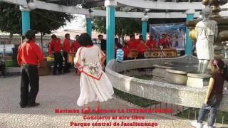 Concierto al aire libre JACALTENANGO - Marimba Los 5 Altares LA INTERNACIONAL