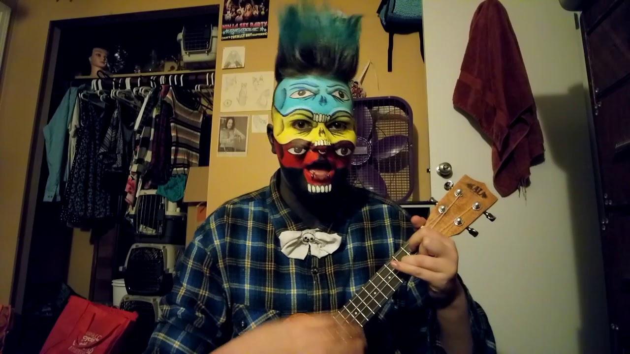 Sleeping Sickness City And Colour Ukulele Cover Youtube