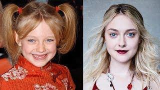 Face Transformation Dakota Fanning ( how changed ) |Трансформация лица Дакота Фэннинг (как менялась)