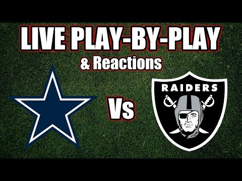 Cowboys Vs Raiders | Live Play-By-Play & Reactions