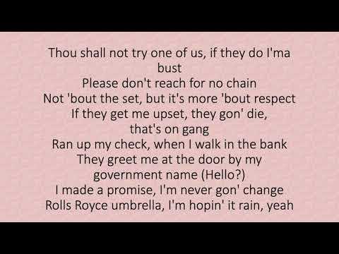 Lil Baby – Grace ft. 42 Dugg (lyrics)