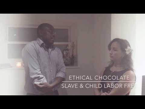 Witness of child slave work in cacao industry