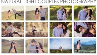 Natural Light Couples Photography Workshop Introduction - A 2 DVD Workshop Collection by SLR Lounge