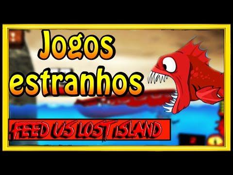 UM DOS JOGOS MAIS ESTRANHOS DA INTERNET FEED US LOST ISLAND