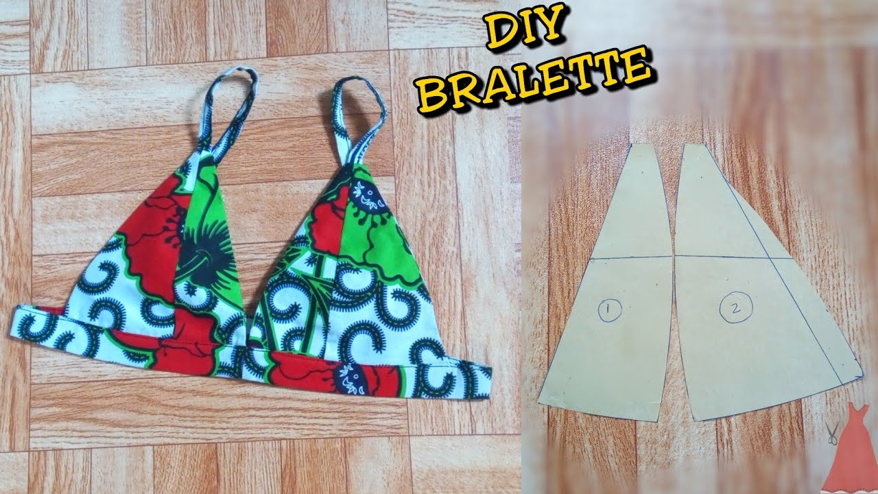 Download How To Cut and Sew a BRALETTE  (Two styles) @Stitchadress