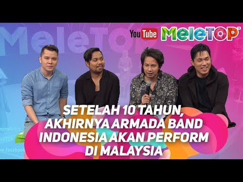 Setelah 10 tahun, akhirnya Armada Band Indonesia akan perform di Malaysia
