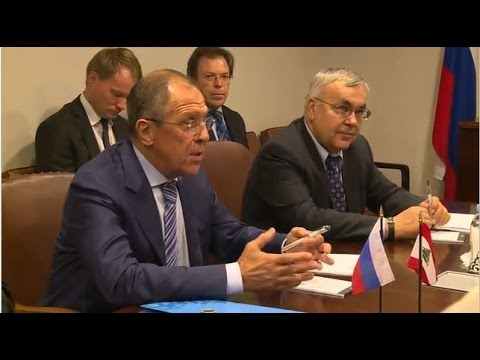 LIVE: Lavrov and Lebanese FM Bassil to hold press conference in Moscow