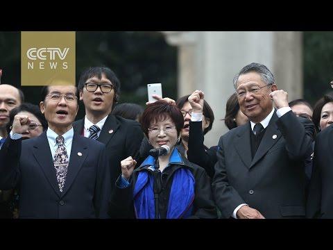 KMT Party Chairwoman pays tribute to Sun Yat-sen in Nanjing