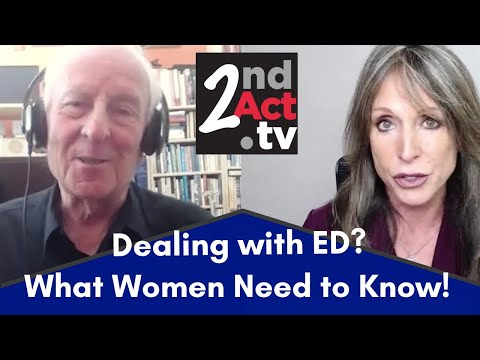Intimacy after 50: Coping with ED in Your Relationship? What Women (and Men) Need to Know!